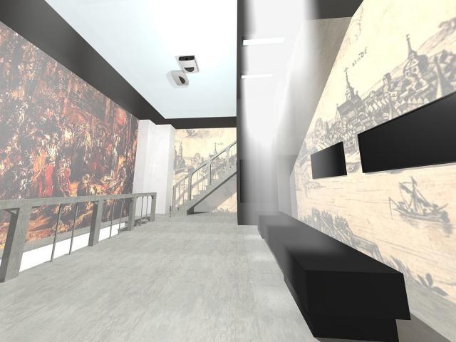 Wieża ratuszowa w Kaliszu - wizualizacja.