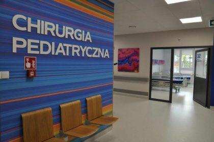 Oddział Anestezjologii i Intensywnej Terapii dla Dzieci - wnętrze oddziału.